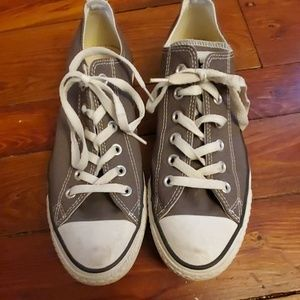 Converse All Star shoes Size 8 mens grey